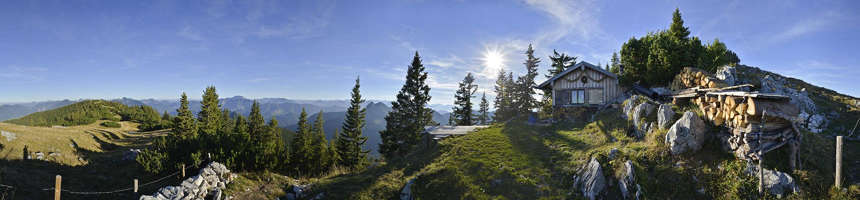 Panoramabilder Berge